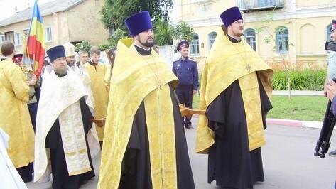 В Репьевке стартовал Ильинский крестный ход