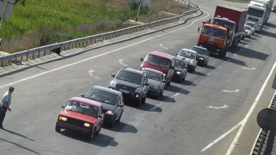В Воронежской области подорожал проезд на платных участках трассы М4 «Дон»
