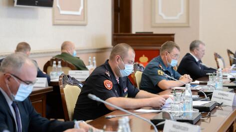 В сентябре в Воронежской области усилят меры безопасности