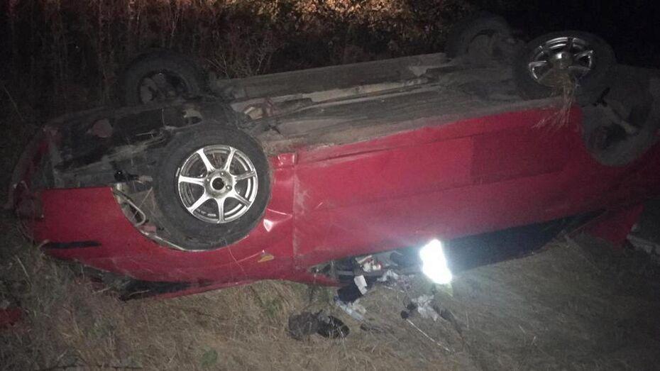 В Верхнемамонском районе пассажирка Ford Focus погибла из-за выбежавшей на дорогу собаки