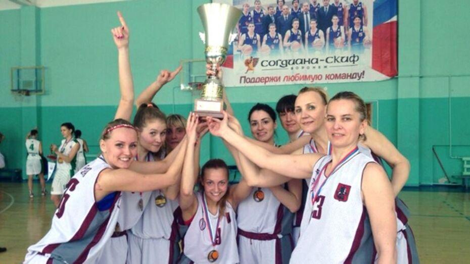 В Воронеже определился победитель первенства страны по баскетболу среди женских команд