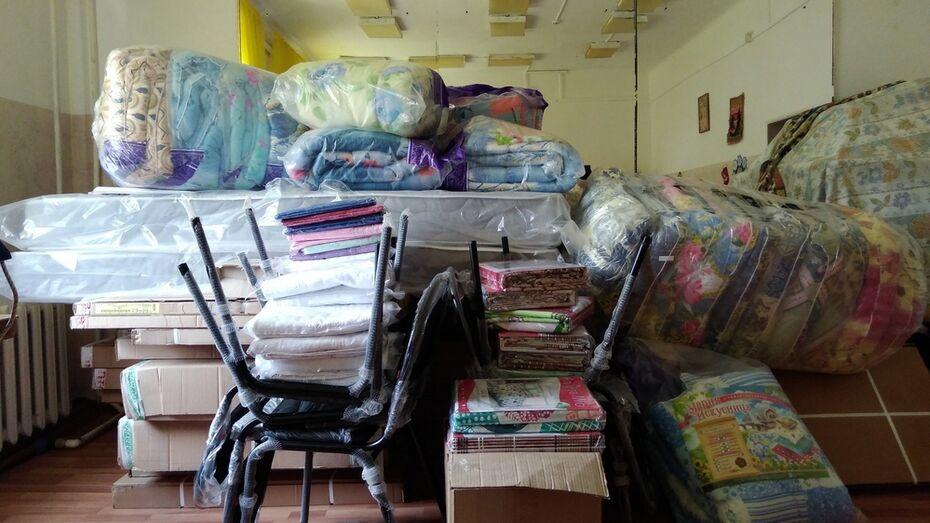 Павловский благотворительный фонд купил мебель для кризисного центра «Дом надежды»