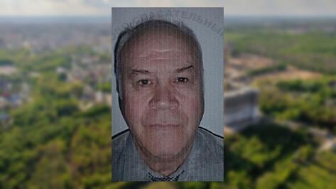 В Воронеже пропал 66-летний мужчина без фаланги пальца на левой руке