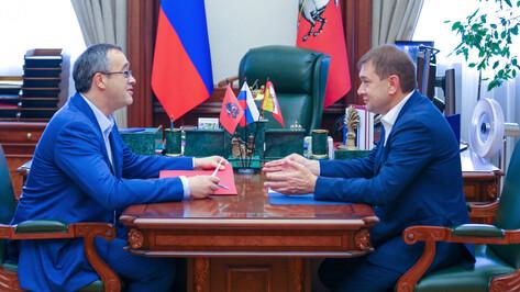 Председатель Воронежской облдумы поучаствовал в обсуждении работы Совета законодателей ЦФО