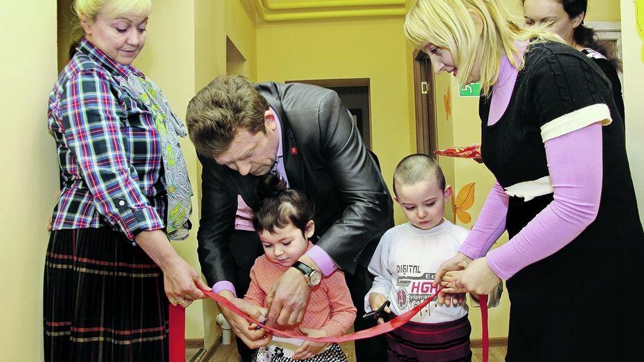 В Панинском районе после капремонта открылся детский сад