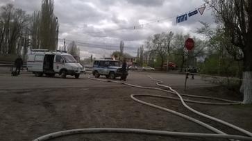 Полиция: двое пострадали при пожаре на газовой заправке в Воронеже