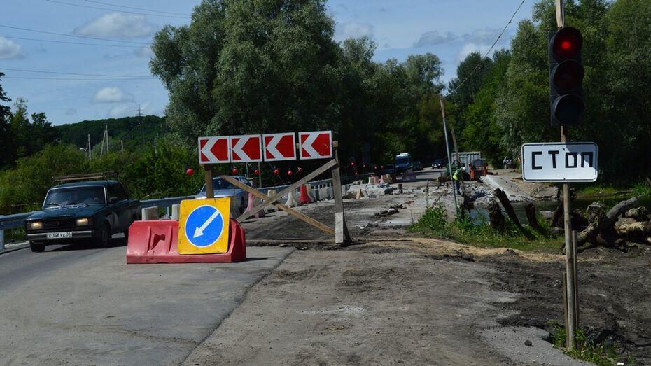 Под Рамонью отремонтируют мост через реку Воронеж