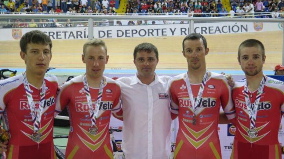 Воронежец завоевал «серебро» Кубка мира по велоспорту на треке