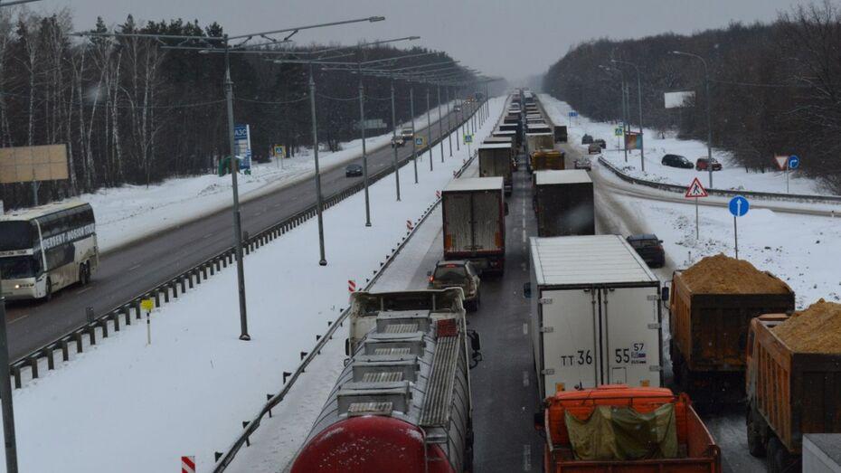 Воронежские большегрузы получат GPS-устройства для оплаты проезда по магистралям России