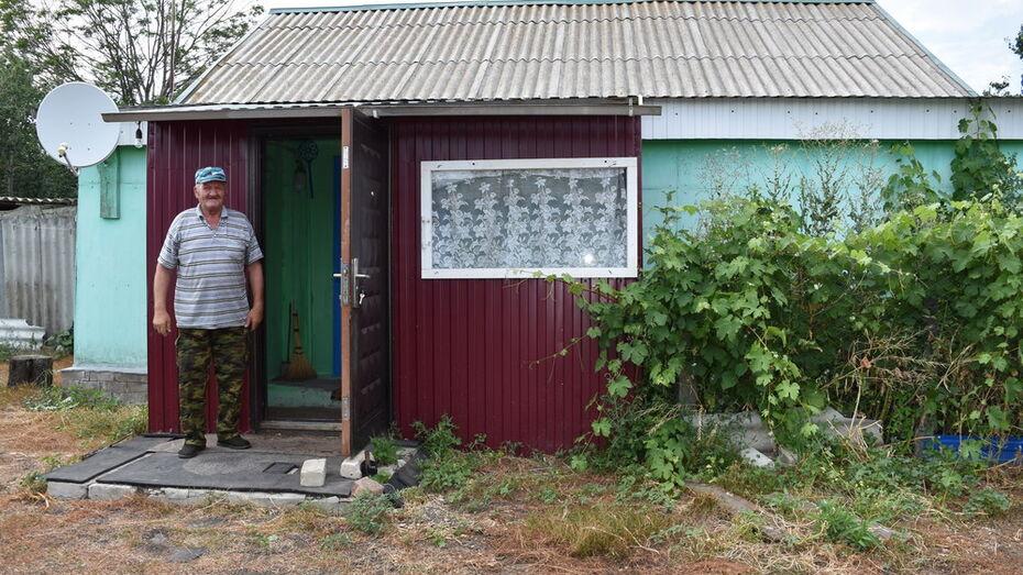 Жители Репьевского района помогли односельчанину-погорельцу купить дом