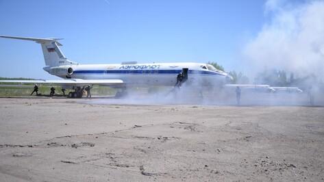 Под Воронежем силовики обезвредили захвативших самолет «террористов»
