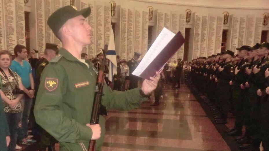 Житель Верхнемамонского района откроет Парад Победы в Москве