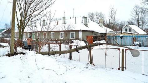 Из-за снегопада несколько семилукских сел 2 дня провели без света