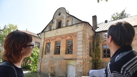 Старейший в Воронеже Дом купца Гарденина оказался на перепутье