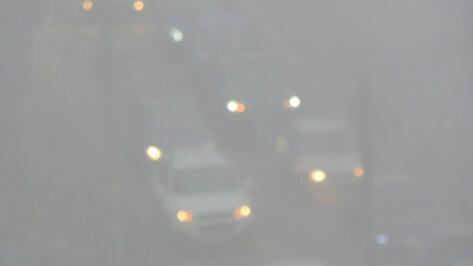 Госавтоинспекция Воронежской области предупредила о тумане на М-4