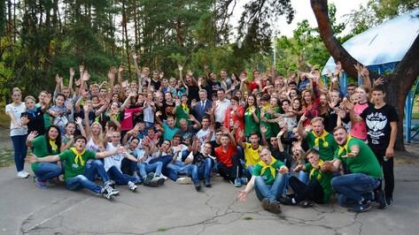 В Россошанском районе молодежный слет собрал более 120 человек