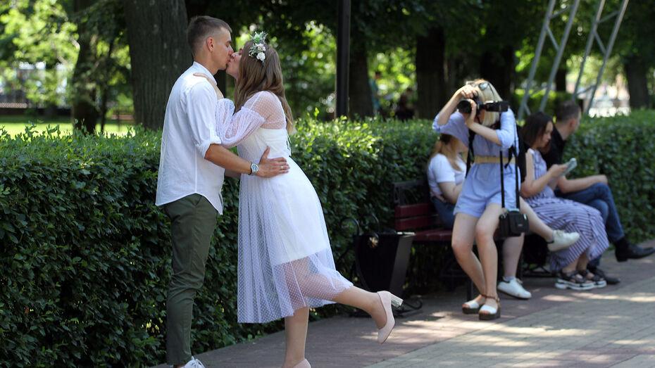 Посткарантинный свадебный бум случился в воронежских ЗАГСах летом 2021 года