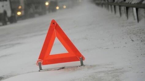 В Воронежской области при лобовом столкновении 2 авто пострадали 6 человек
