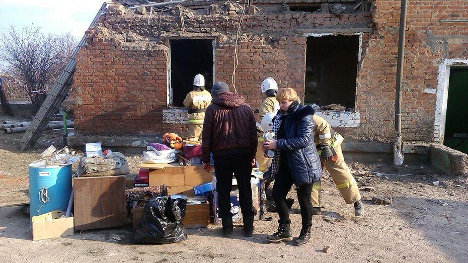 В Воронежской области жильцам поврежденного взрывом дома выплатят по 10 тыс рублей