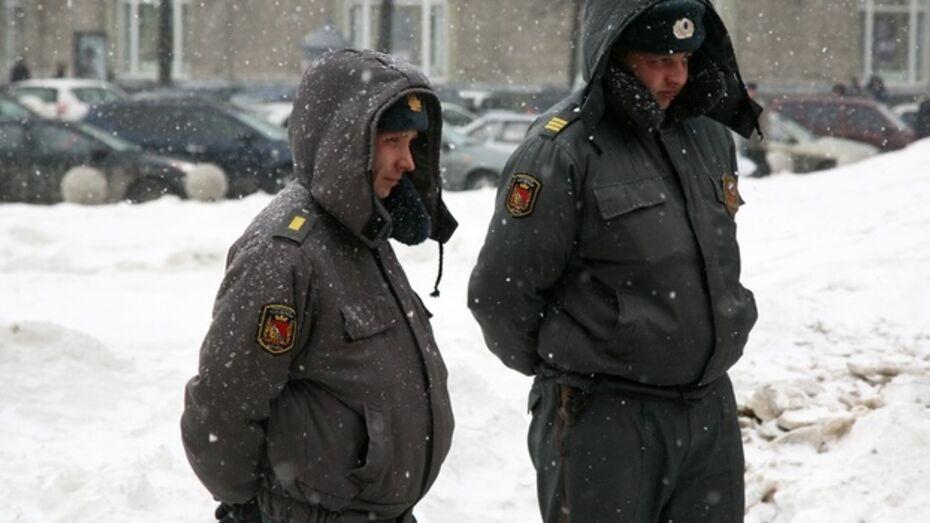 Более 3 тысяч полицейских в новогодние праздники выйдут на работу
