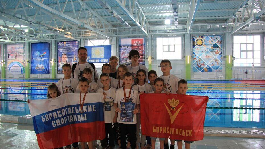 Борисоглебские пловцы завоевали 6 золотых медалей на всероссийском турнире