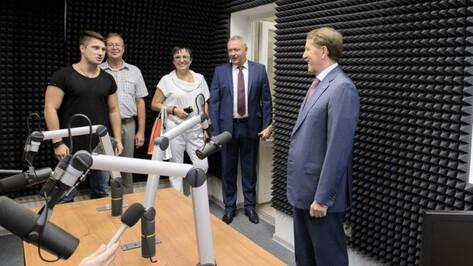 Коллектив воронежского радио «Губерния» переедет в новое здание