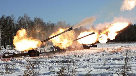 Под Воронежем артиллеристы уничтожили штурмовавшего город «противника»