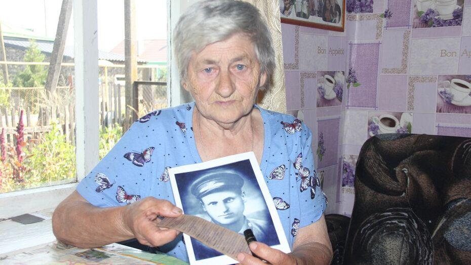 Жительница Каширского района отыскала могилу отца-фронтовика через 78 лет