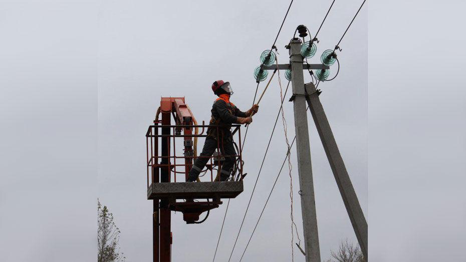 В Новоусманском районе решат проблему с частым отключением электроэнергии