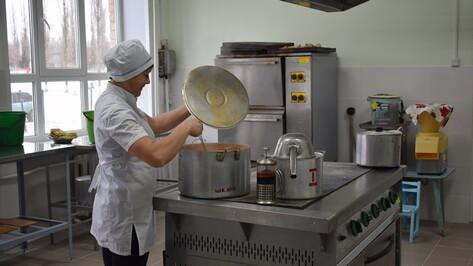 В школе подгоренского поселка Опыт капитально отремонтировали пищеблок и столовую