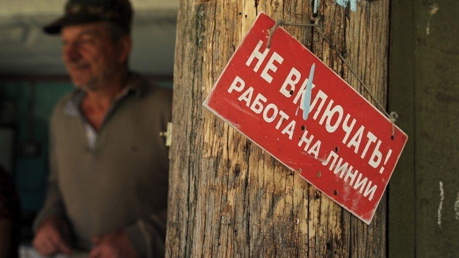 ФАС отменила итоги аукциона по «Воронежгорэлектросети»