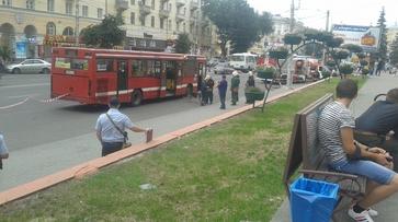 В Воронеже улицу Плехановскую перекрыли из-за сообщения о бомбе в автобусе