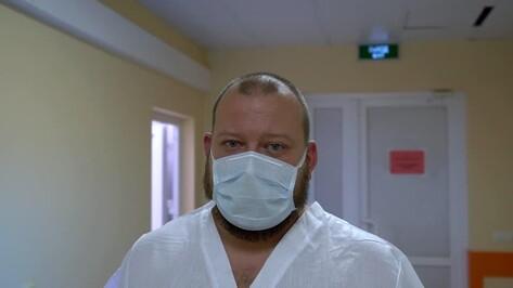 «Медучреждения захлебываются». Реаниматолог БСМП попросил воронежцев носить маски