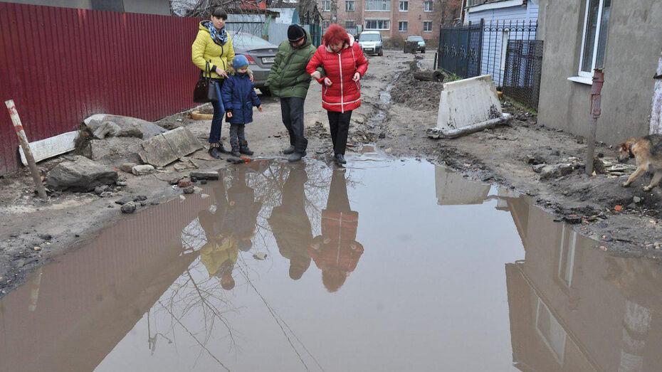 Главной проблемой Воронежа горожане назвали грязь