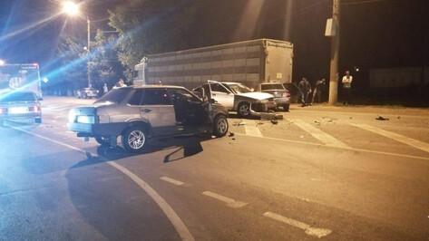 В Воронежской области пьяный водитель спровоцировал ДТП с 4 пострадавшими