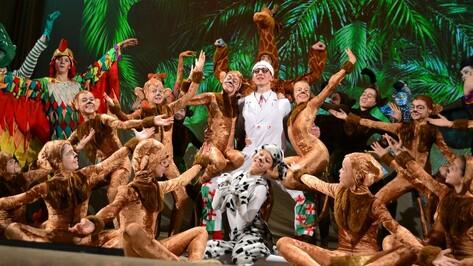 Воронежские студенты показали грибановским школьникам балет «Айболит»