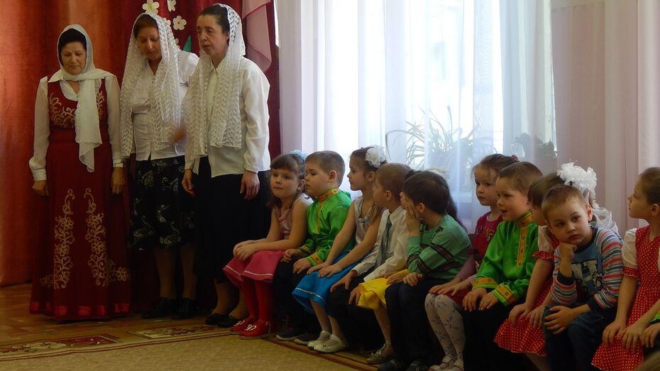 В Подгоренском районе открылись 2 сельских детских сада