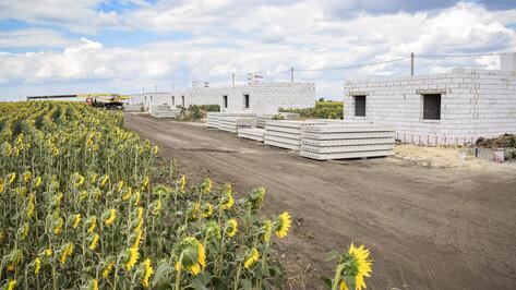 В Лискинском районе для работников агрохолдинга «ЭкоНиваАгро» построят 28 домов