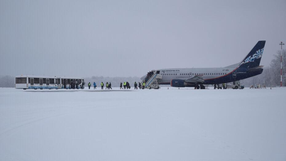 Несколько ночных рейсов из Воронежа и обратно задержали из-за тумана