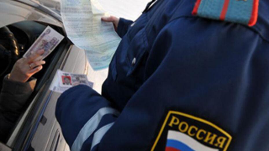 Под Воронежем водитель попался на взятке гаишнику