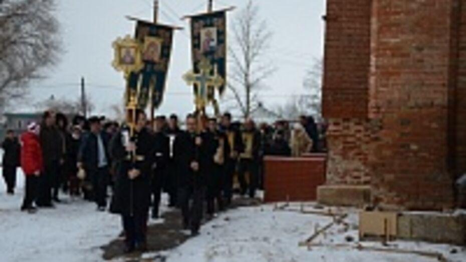 В Свято-Митрофановском храме Верхнего Мамона отметили 150-й престольный день