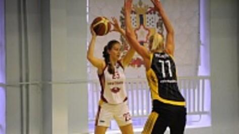 Воронежские баскетболистки стартовали в Суперлиге с поражения