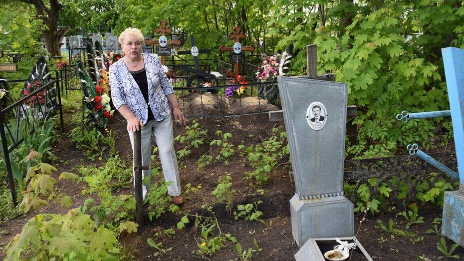 Вандалы украли надгробия с кладбища в Верхнехавском районе