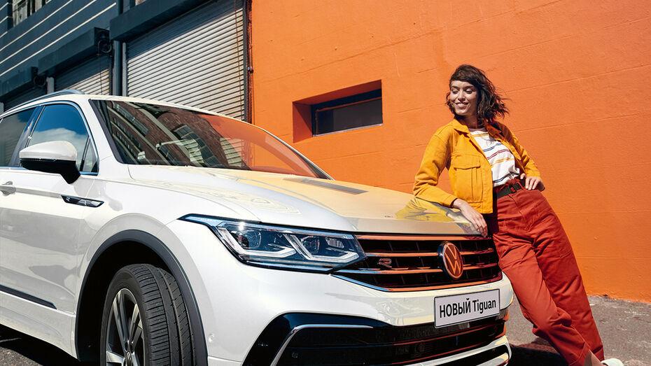 Воронежским автолюбителям рассказали об опциях нового Volkswagen Tiguan