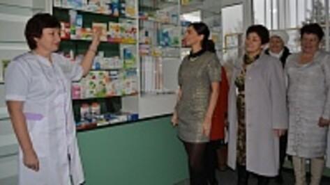 В нижнедевицком селе открыли аптеку