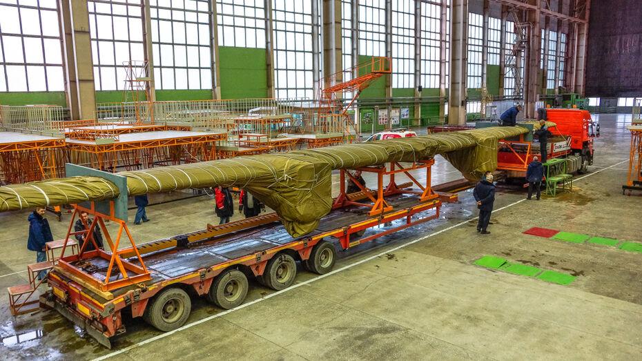 Воронежский авиазавод передал элементы второго опытного образца Ил-112В на испытания