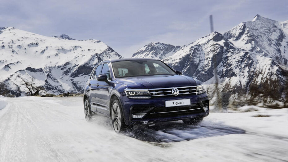 Воронежцам представили зимнюю версию Volkswagen Tiguan