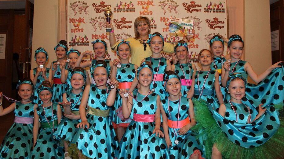 Россошанские танцоры взяли 4 гран-при всероссийского фестиваля