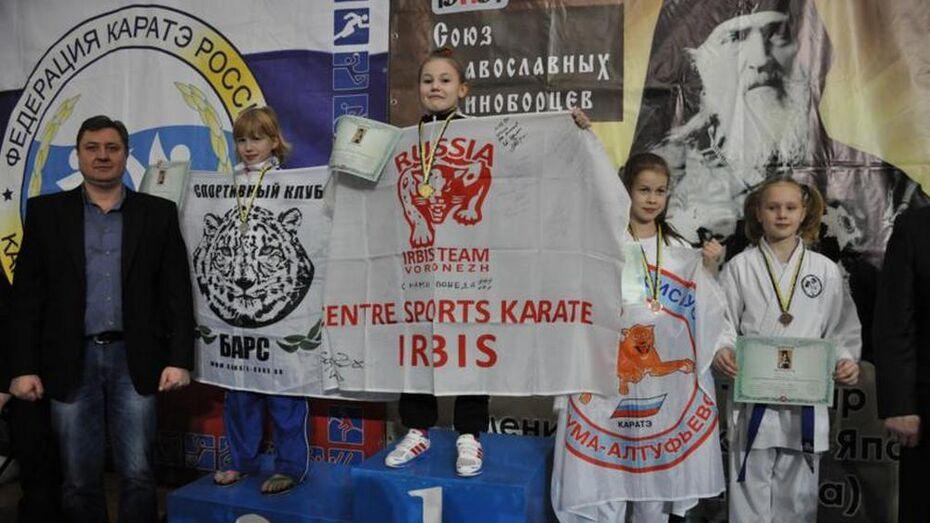 Воронежские каратисты выиграли турнир Союза православных единоборцев
