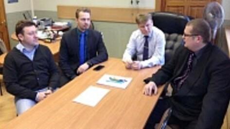 Семилукским районом заинтересовались финские бизнесмены